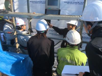 「防水検査勉強会&建設フレーマー研修」(建設部Vol.3)