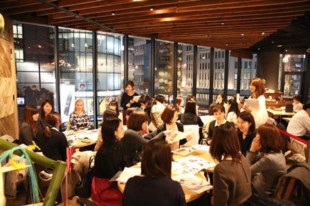 プレスリリース:働く女性を応援するコミュニティ 「ふどうさん女子」、銀座で定期イベントを開催